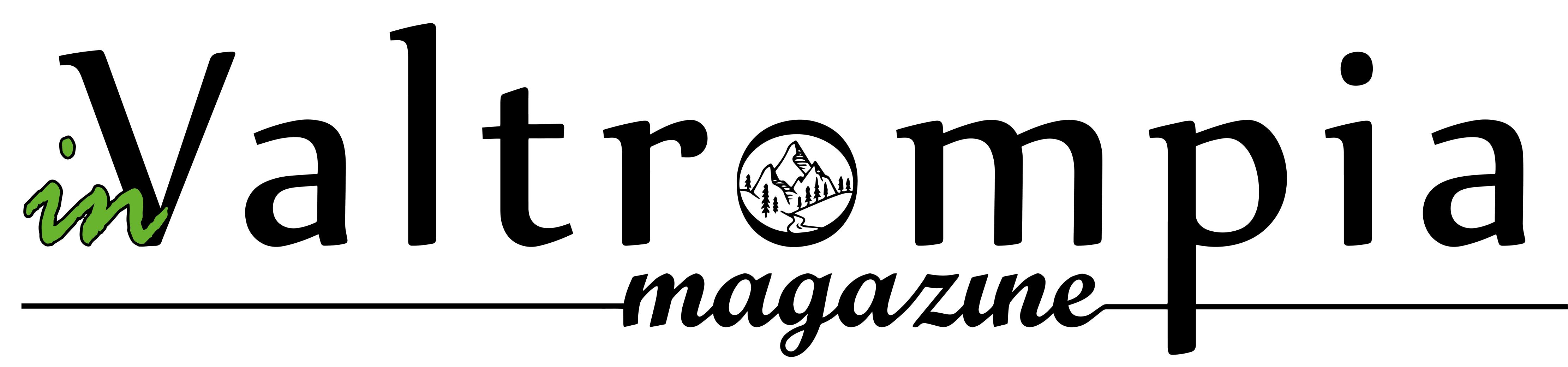 logo nero invaltrompia png senza sfondo